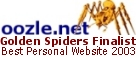 Golden Spider Award Nominee 2003